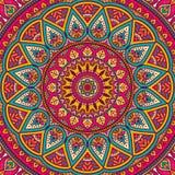 Mandala. Ornament beautiful  card with mandala. Geometric circle element made in vector Stock Images