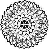 Mandala ornament Stock Photography