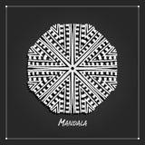 Mandala ornament design, ethnic style Stock Photography