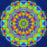 Mandala ornament generated texture Royalty Free Stock Image