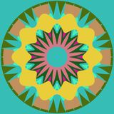 Mandala ornament generated texture Stock Photo