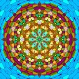 Mandala ornament generated texture Stock Photography