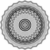 Mandala. Ornament of geometric patterns in a circle Stock Photos