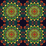 mandala Ornament pattern Stock Afbeelding