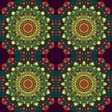mandala Ornament pattern Stock Afbeeldingen