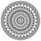 Mandala. Ornament round set with mandala. Geometric circle element made in . Perfect set for any other kind of design, birthday and other holiday, kaleidoscope Stock Photography