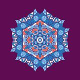 Mandala ornament with space for your text. Vector Stock Images