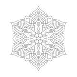 Mandala Ornament Vector Illustration Imagenes de archivo