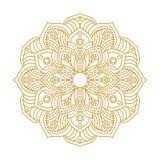Mandala Ornament Vector Illustration Fotografía de archivo