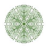 Mandala Ornament Vector Illustration Foto de archivo