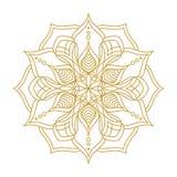 Mandala Ornament Vector Illustration Fotos de archivo libres de regalías