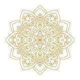 Mandala Ornament Vector Illustration Fotografía de archivo libre de regalías