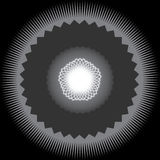 Mandala ornamental abstracta Fotografía de archivo