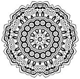 Mandala. Ornamental round mandala. Geometric circle element made in . Perfect for any other kind of design, birthday and other holiday, kaleidoscope, medallion Royalty Free Stock Photography
