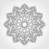 Mandala. Ornamental round pattern. Stock Image