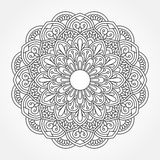 Mandala. Ornamental round pattern. Stock Images