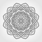 Mandala. Ornamental round pattern. Royalty Free Stock Images