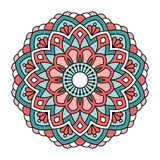 Mandala. Ornamental round pattern Stock Images