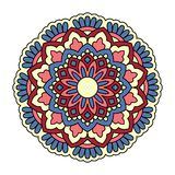 Mandala. Ornamental round pattern Stock Image