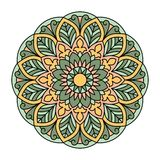 Mandala. Ornamental round pattern Royalty Free Stock Photos