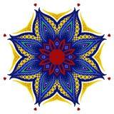 Mandala, ornamento étnico tribal, vector Foto de archivo libre de regalías