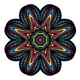 Mandala, ornamento étnico tribal, vector Imagen de archivo
