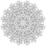 mandala Ornamento redondo Foto de Stock Royalty Free
