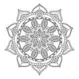mandala Ornamento redondo Fotos de Stock