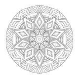 mandala Ornamento redondo Imagens de Stock Royalty Free
