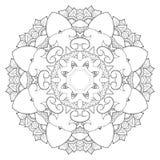 mandala Ornamento redondo Fotografia de Stock Royalty Free