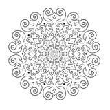 mandala Ornamento redondo Fotografia de Stock