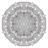 mandala Ornamento redondo Imagens de Stock