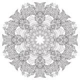 mandala Ornamento redondo Imagem de Stock Royalty Free
