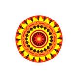 mandala Ornamento redondo Elementos decorativos Foto de Stock Royalty Free