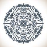 Mandala ornamentu Round wzór Zdjęcie Stock