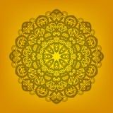 Mandala ornemental illustration de vecteur