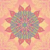Mandala ornemental de cercle Image libre de droits