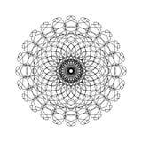 Mandala Outline geometrica astratta royalty illustrazione gratis