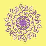 Mandala over kleurrijk Royalty-vrije Stock Foto