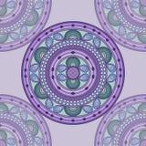 Mandala púrpura Imágenes de archivo libres de regalías