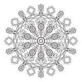 Mandala para los niños con las libélulas Fotos de archivo