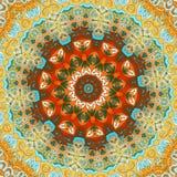 Mandala Pattern Éléments décoratifs de cru Illustration Stock