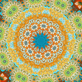 Mandala Pattern Éléments décoratifs de cru Image stock