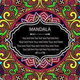 Mandala Pattern Stock Foto's