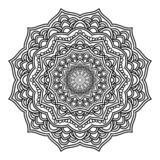 Mandala Pattern Lace 04 vector illustration