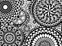 Mandala Pattern Stock Afbeeldingen