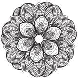 Mandala Pattern Lizenzfreie Abbildung
