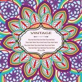 Mandala Pattern Lizenzfreie Stockbilder