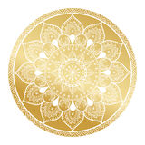 Mandala pattern.Arabic Vintage decorative ornament.Mandala gold background. Abstract Tribal,ethnic texture. Wedding,gold Royalty Free Stock Photos