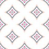 Mandala Pattern Blue Background compleja Imagen de archivo